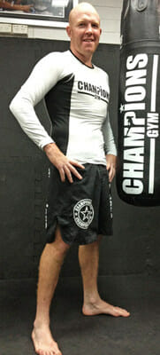 Barry Hickey Mixed Martial Arts coach @ Champions Gym Perth Western Australia