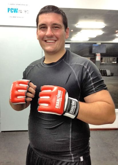 Meet Mitchell our Student of the Month Champions Gym Perth Western Australia