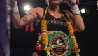Alice Becklake's first defence of her WBC Muaythai title