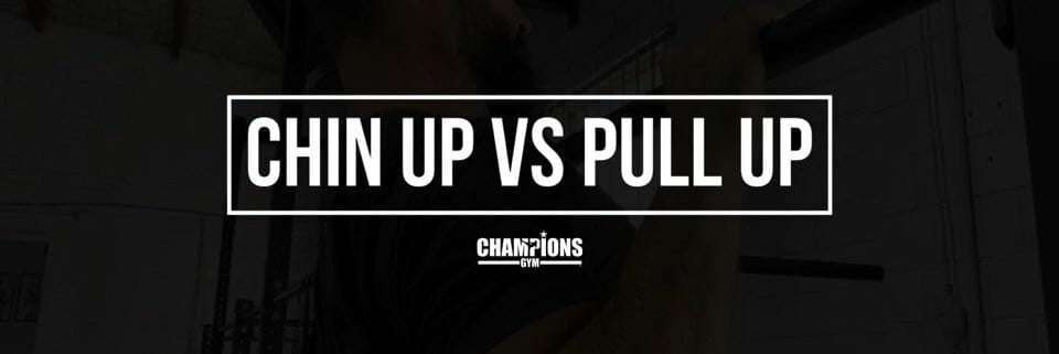 CHIN UP VS PULL UP